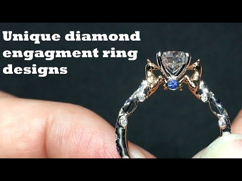 Unique Diamond Engagement Rings Settings/Designs, Bespoke Engagement ...