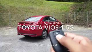 2019 Toyota Vios | Sights & Sounds