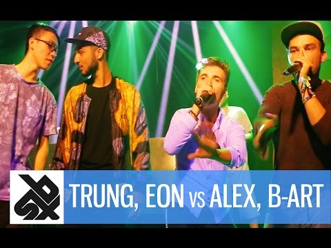 TRUNG BAO & EON vs ALEXINHO & B-ART | Fantasy Beatbox Battle 2016 | Semi Final