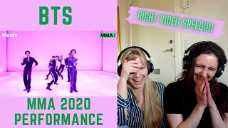Singers Reacts to BTS MMA 2020 Performance (CORRECT VIDEO SPEED)