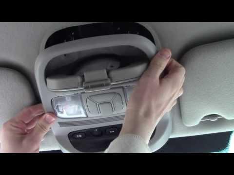 How to fix a broken car Homelink garage door opener button