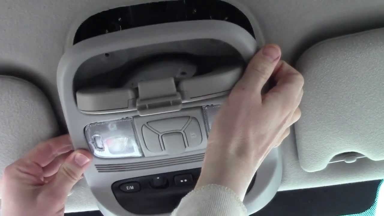how to fix a broken car homelink garage door opener button [ 1280 x 720 Pixel ]