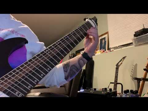 Dead By Daylight Metal Guitar Cover - Legator NF8P Demo