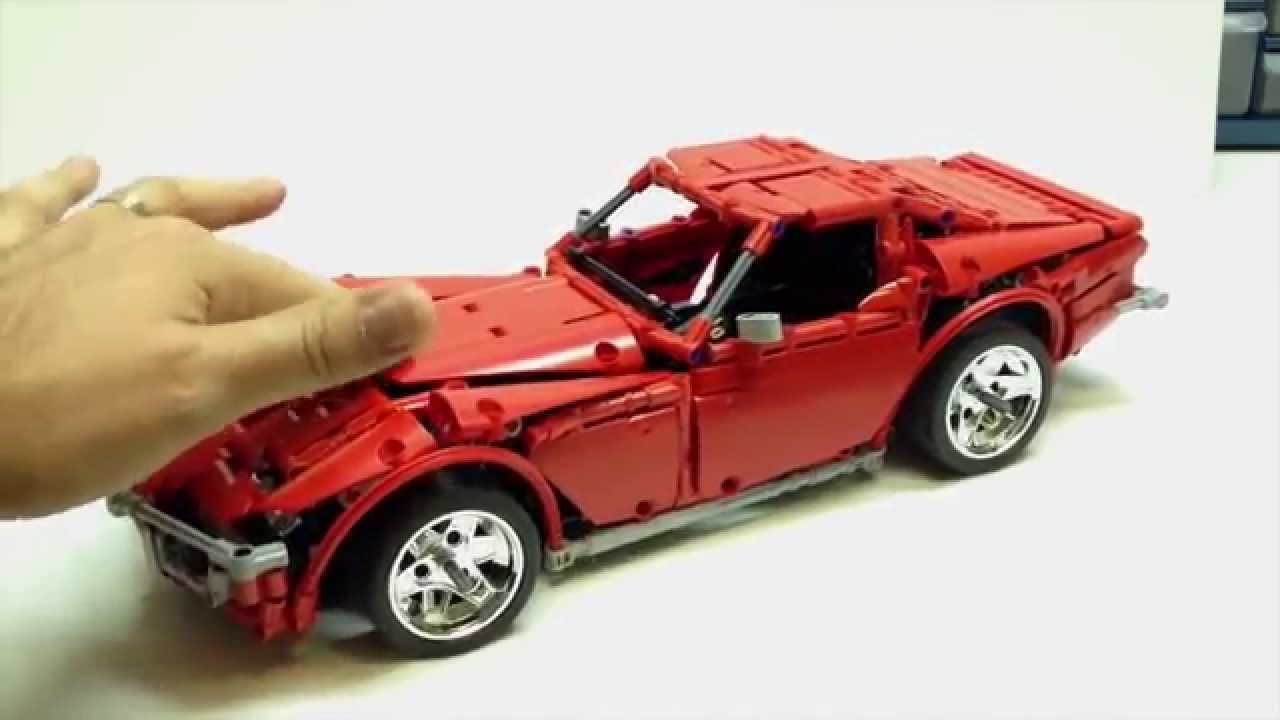 Lego Technic Corvette Review Madoca Youtube