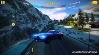 Asphalt 8 Airborne Ford Mustang 2015 in Alps Ford Event