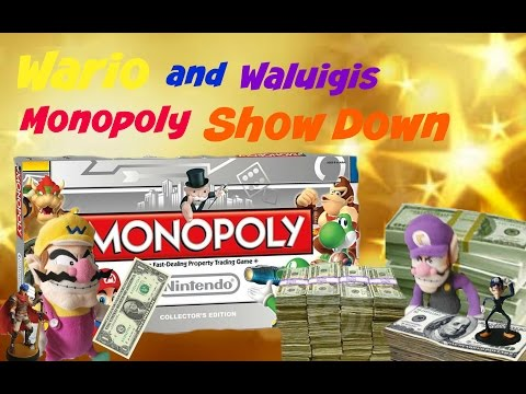 Wario and Waluigis monopoly show down (SMR Long)