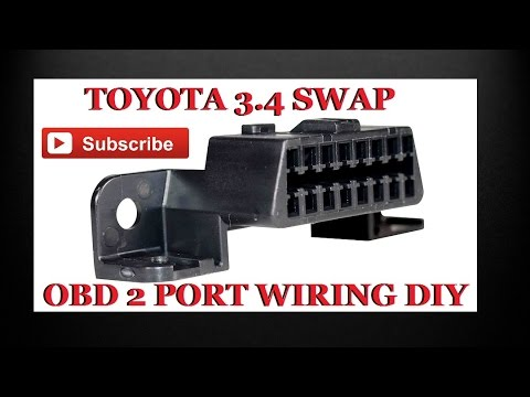How to wiring up all toyota 34 swap on boad diagnostics 2 obd2 how to wiring up all toyota 34 swap on boad diagnostics 2 obd2 plug asfbconference2016 Choice Image