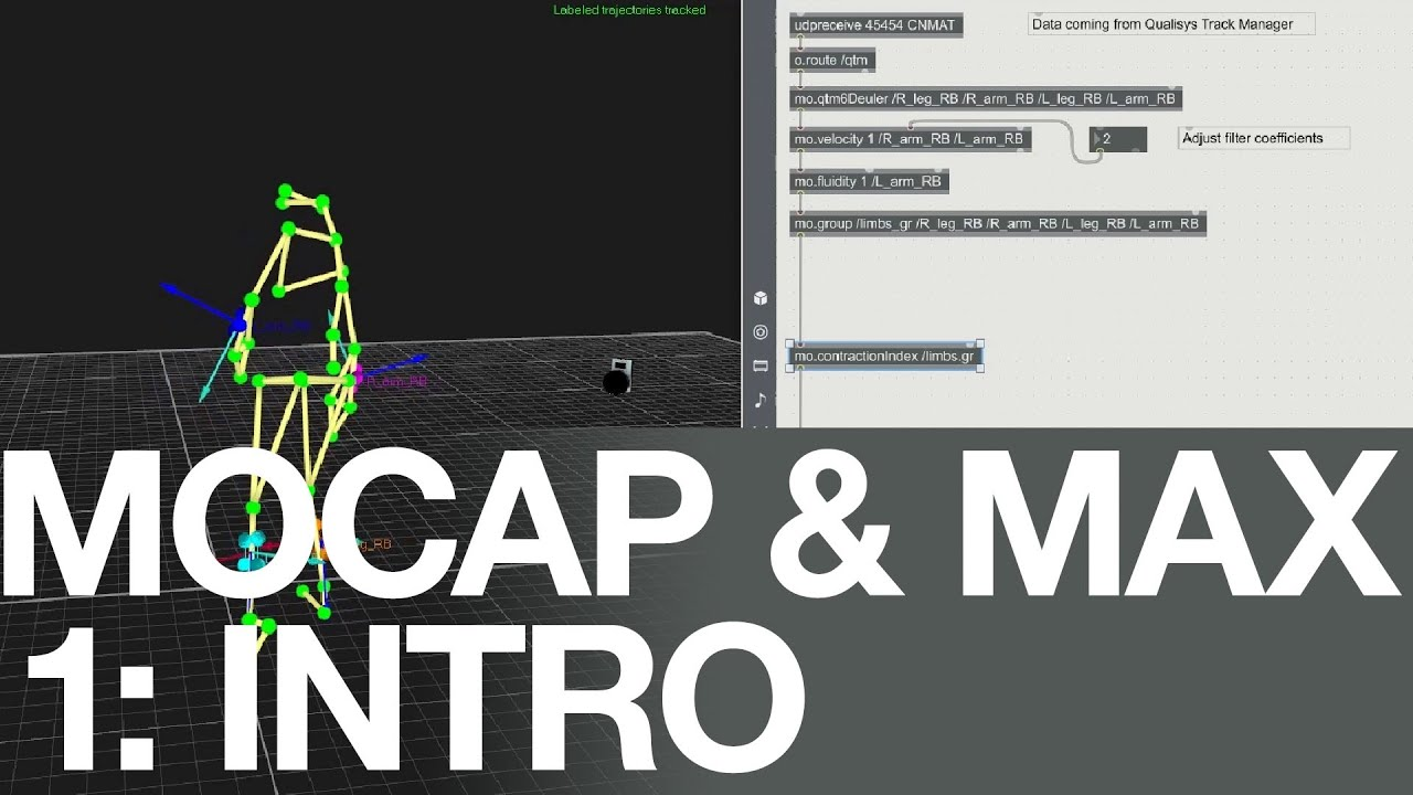 modosc: Mocap & Max video tutorials | Federico Visi
