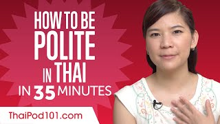 Good Manners: What to Do and Say in Thai?