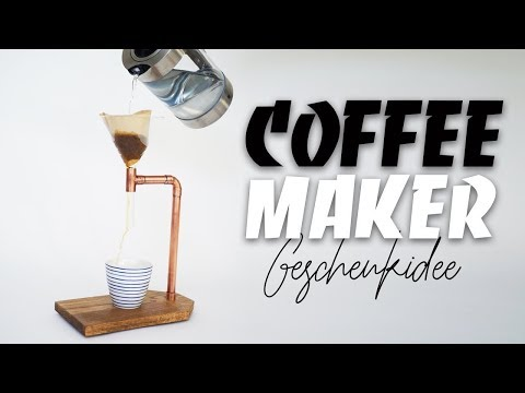 KAFFEEMASCHINE SELBER BAUEN - perfektes Weihnachtsgeschenk | EASY ALEX