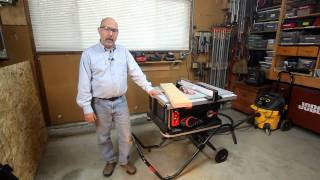 Tested: Sawstop Jobsite Table Saw