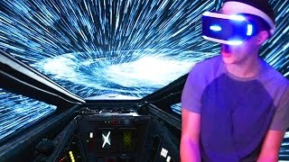 Star Wars: Rogue One - X-WING FIGHTER VR MISSION(This is easily my favorite VR game we've played on the channel so far. Thumbs up if we should do more VR games! Check out my vlog channel: ..., 2016-12-07T22:00:01.000Z)