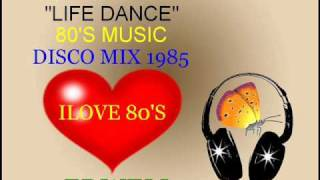 "LIFE DANCE - SONIA BELOLO EXTENDED VERSION 12"" 80"