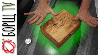 Деревянная шкатулка с секретом   Подарок на свадьбу для моей подруги!
