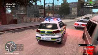 GTA IV: Volkswagen Golf 6 GTI / Gauteng Flying Squad