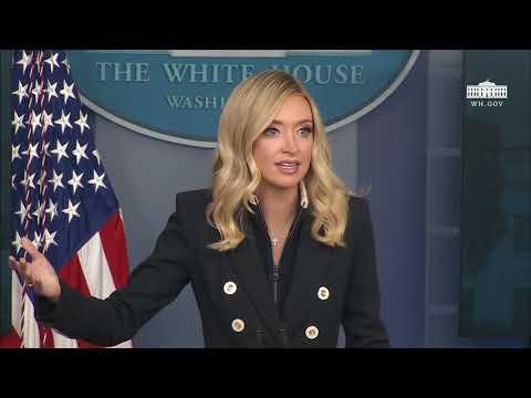 Press Secretary Kayleigh McEnany Holds a Briefing