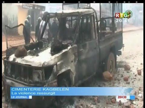 www.guineesud.com - Des émeutes éclatent à Conakry : le 06.02.2018