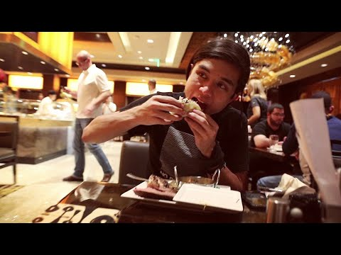 Matt Stonie vs Las Vegas Buffet (ft. Morgan)