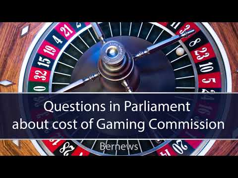 Questions In Parliament About Cost Of Gaming Commission, February 2020