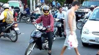 Cambodian traffic (Phnom Penh)