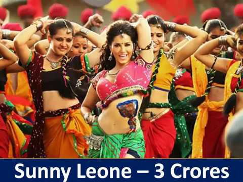 Top Highest Paid Indian Film Actress 2017 for item song