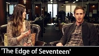 Blake Jenner vesves Haley Lu Richardson Exclusive Interview - THE EDGE OF SEVENTEEN (2016) JoBl