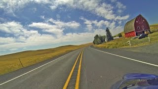 Washington Motorcycle Ride: Highway 195, Colfax to Lewiston