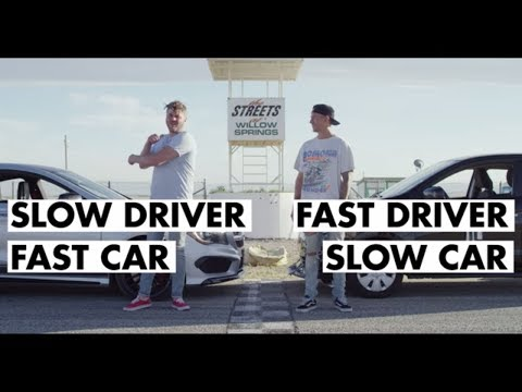 Fast Driver, Slow Car Vs Slow Driver, Fast Car | Donut Media