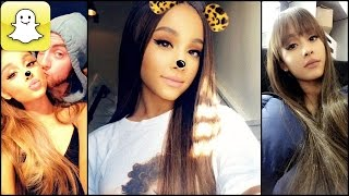Ariana Grande - Snapchat Video Compilation (Best 2017★) #3
