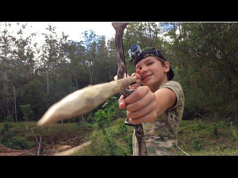 Bowfishing HUGE Catfish - Catch N Cook!