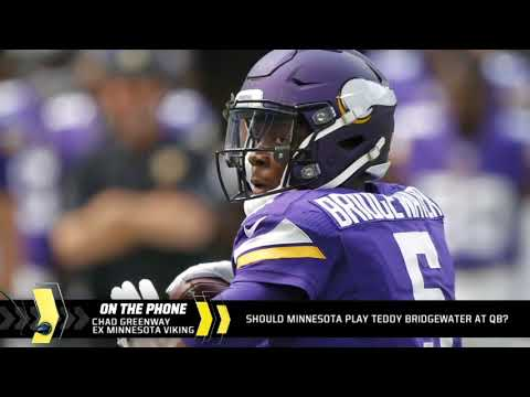 Chad Greenway on Teddy Bridgewater