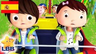Canciones para Niños | La Canción de la Montaña Rusa | Canciones Infantiles | Little Baby Bum Júnior