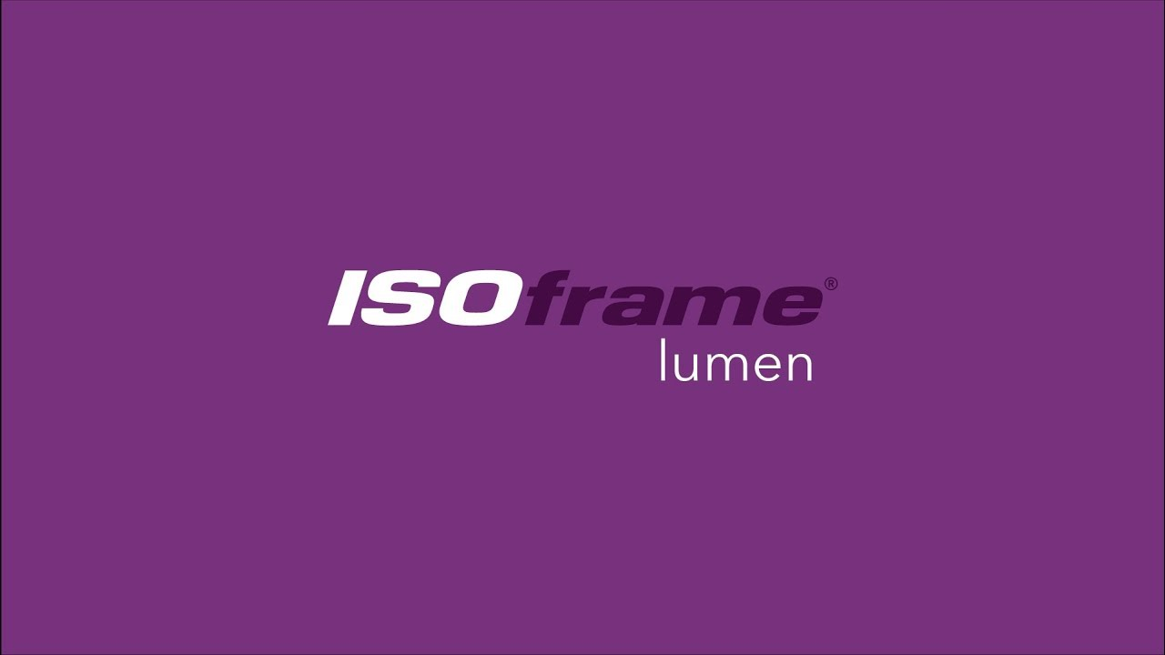 Lit Fabric Isoframe Lumen Back Lit Fabric Exhibition Stand
