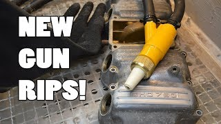 IT RIPS! Tacoma gun for Vapor Blasting