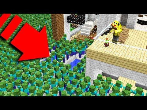 YENİ EVİMDE ZOMBİ KIYAMETİ! 😱 - Minecraft