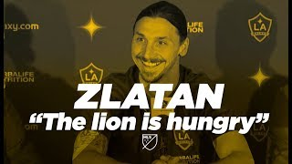"Zlatan Ibrahimović Intro Presser: ""I Feel Like Benjamin Button"""