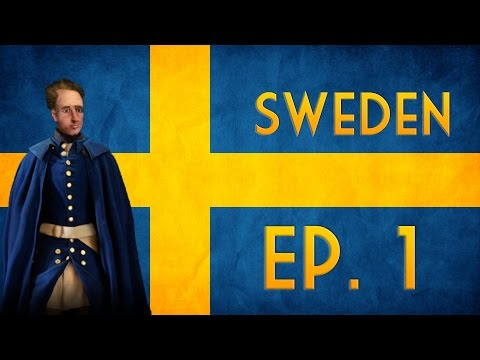 Civilization VI as Sweden | Modded Series | See Carolus Rise
