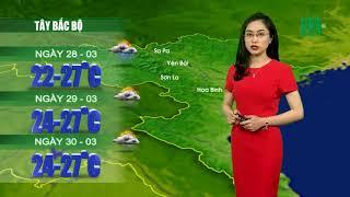 VTC14   Thời tiết 12h 27/03/2018   Nắng nóng vẫn diễn biến phức tạp tai khu vực Tây Nguyên và Nam Bộ