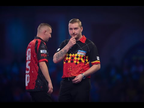 """Dimitri van den Bergh: """"I've learned from Peter Wright not only in darts but in life experience"""""""