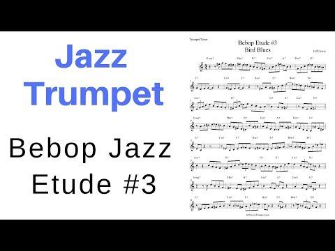 Jazz Bebop Etude #3 for Trumpet or Tenor