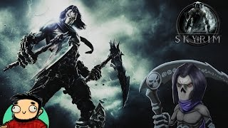 Броня некроманта из Darksiders 2 в Скайриме