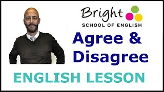 Agree & Disagree - English Lesson - Bright School