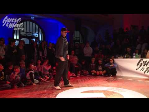 GROOVE'N'MOVE BATTLE 2015 - Tutting quarter-final /  Stee.K Boogie vs Smoothie-H
