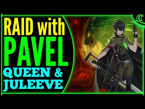 Pavel RAID Epic Seven (Queen & Juleeve) Epic 7 PVE Gameplay E7 Raiding [Lots Diene Violet]