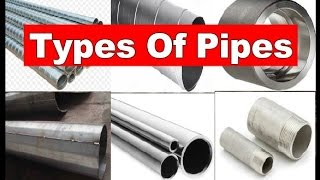 Types of Pipes   Piping Analysis