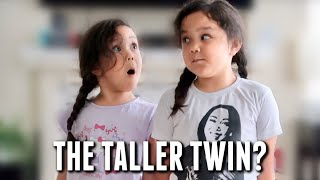 Which Twin is Taller? - itsjudyslife