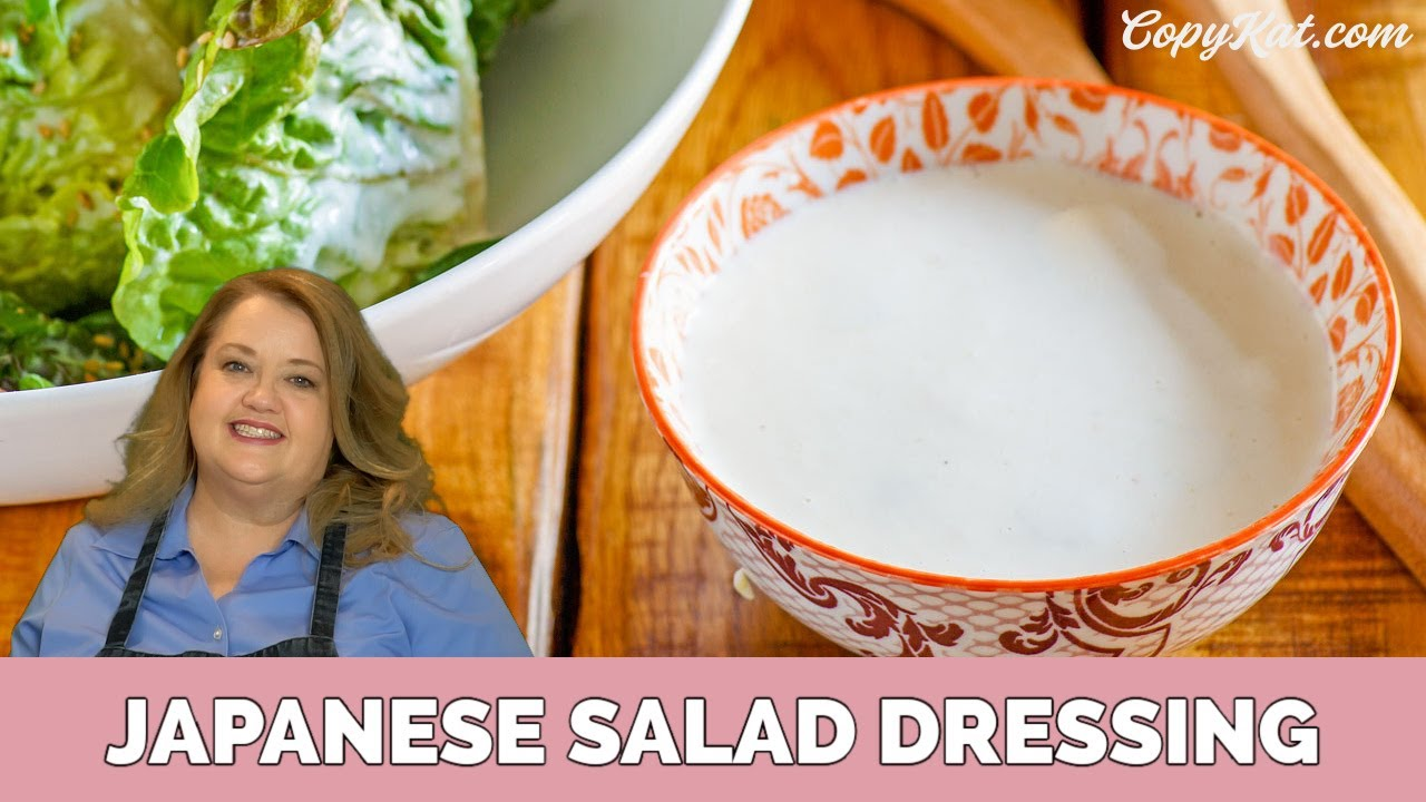 How To Make Japanese Salad Dressing
