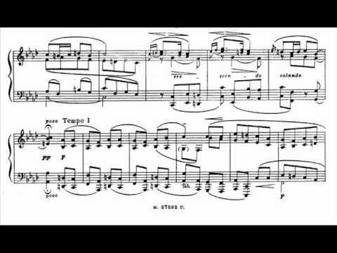 Medtner - Tale Op.14 No.1 'Ophelia's Song'