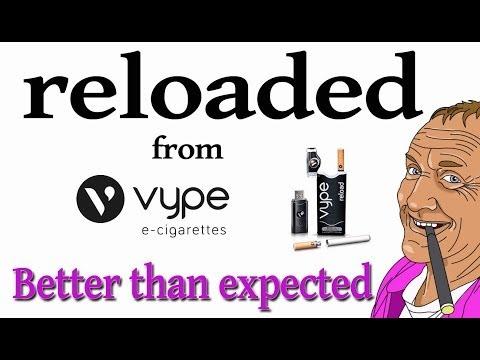 Reloaded Vype Electronic cigarette vape e-cig