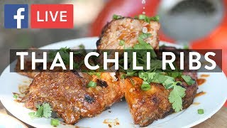Thai Chili Pork Ribs   FB LIVE With Urban Accents Spices